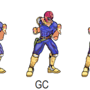 Captain Falcon Spritified by jsrama