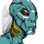 Abe Sapiens Fan art by Letal