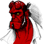 Hellboy Fan art by Letal