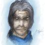 Lancelot - Portrait by UndefinedArt
