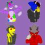 Imp OC stickers - ALL