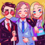 (EPILEPSY WARNING) trio