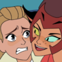 Adora and Catra the closest friends