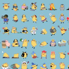 100+ Birdblobs for Patreon