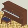 Isometric Piano in Isolation