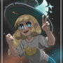 A witch in space