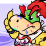 King Boo Teaches Bowser Jr How to Draw for the Low, Low, Price of 15.99 on Bowsers Credit card