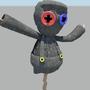 3D Scarecrow Ragdoll by Budj