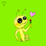 alien hominid loves you