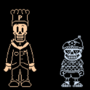 [Underswap, My Take] - Sans and Chef Papyrus