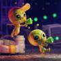 Alien Hominid 3D Scene