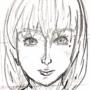 Megumi spinning around (head)