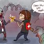 Zombie Bashin by ColonelCheru