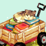 cat wagon books yaaaaaaaaay