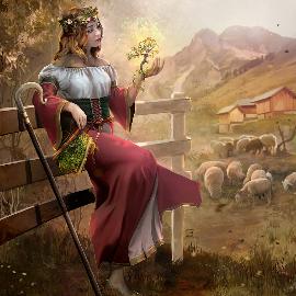 The mystical shepherd