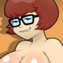 Velma the chubby nerdy