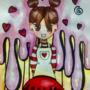 Raspberry & Choco Muffin as a girl