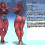 Rosa character sheet