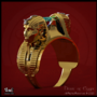 "My new 3D Ring visualization work ""Heart of Egypt"" 3Ds Max, Vray"