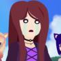 Ashley's Sad, with Peachy and Nevi