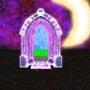 Violet Doorway by BatteryCat