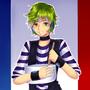 UTAU Bonne aniversaire Mathieu by suwako