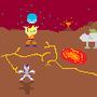 Goku vs. Frieza by firelukey1409