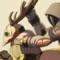 Commission - Hunter x Warlock