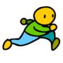 Run guy
