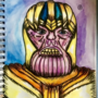 I tried to draw Thanos...
