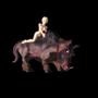 My pet warthog by ConchaPunani