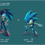 Sonic Concept Sketches