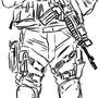 SWAT dude by ManiacYKT