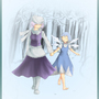 Touhou: Letty and Cirno by Raz-14