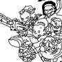 Newgrounds Line Art by wyattsawesome