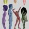Colourful Nudes