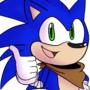 Mugi Draws Boom Sonic