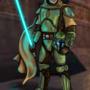 Mandalorian Jedi Guardian. by johngoldenwolf