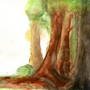 forest backdrop by aba1