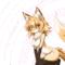 cute furry fox