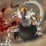 Full Hollow Ichigo by nomenomen
