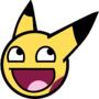 8D pikachu by DemonDaryn