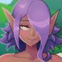Nude Dark Elf OC