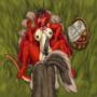 red ridding drake 5