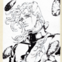 Kakyoin Part 6 Birthday Gift B&W