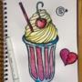 Milkshake from Pop's Chock'lit Shop
