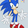 My New And Improved Sonic Design (Doodle)