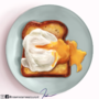poached egg and sandwich