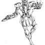 Gundam Pose by Fifty-50