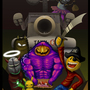 Newgrounds Halloween 2010 by vylent
